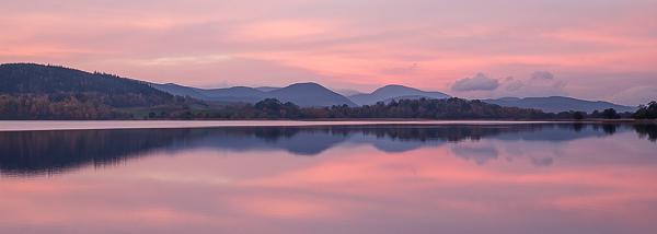 Pre-dawn Glow, Loch Insh - Cairngorms